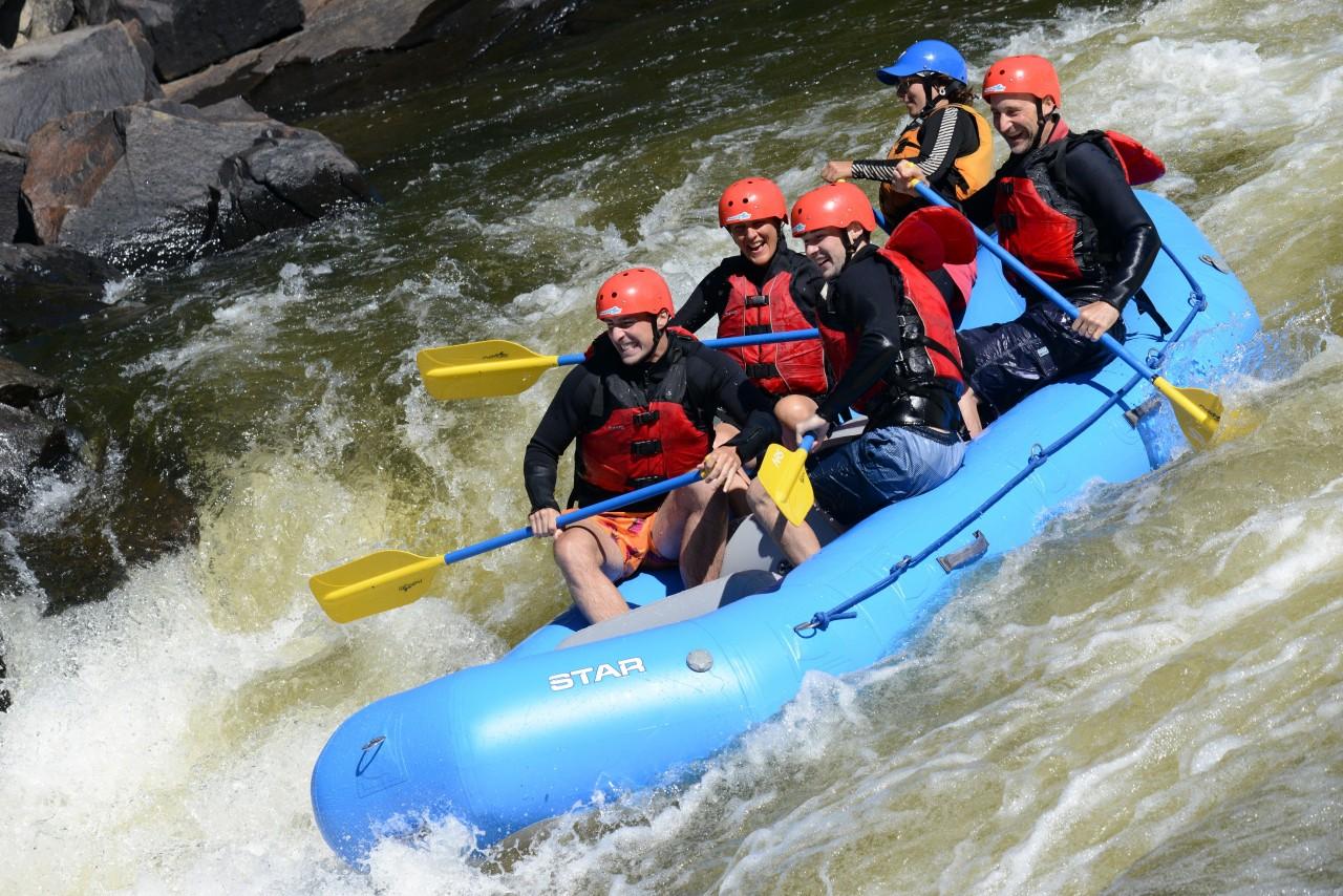 Rafting sur la Rivière Rouge